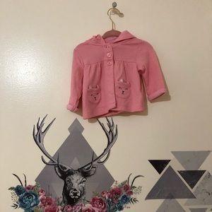 Carters | Pink Sweatshirt Hoodie sz 3m